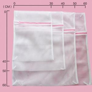 Yıkama Elbise Pantolon Ceket Triko Giyim Fermuar ile Bakım Çamaşır Makinesi Yıkama Çanta Mesh Bag yıkama 40 * 50cm Çamaşırhane Çanta