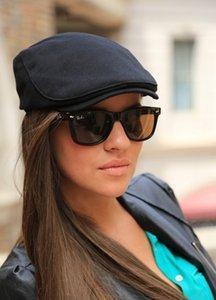 Erkekler ve Kadınlar Için vizeler Bere Kap Pamuk Şapka Donatılmış Sürüş Güneş Şapka Planas Düz Kapaklar Ayarlanabilir Gorras Bereliler 77