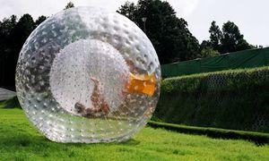 Zorb Ball aufblasbaren Ball Zorbing Outdoor-Sport-Spielzeug Menschliches Hamster Ball 3M oder 2,5 M PVC oder TPU für wählen