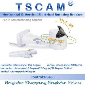 TSCAM nuevo soporte CCTV para exteriores PTZ giratorio eléctrico Conexión RS485 motor inclinable de rotación para incorporar accesorios para montaje en cámara IP