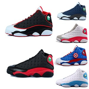 13 13s XIII Herren-Basketballschuhe GS Hyper Royal Italien Blau Bordeaux Chicago Bred DMP Wheat Olive Ivory Black Cat Herren-Sportschuhe