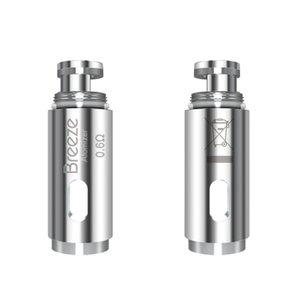 Aspire Breeze Coil 0.6 / 1.2ohm Breeze 2 Coil 1.0ohm Tête de rechange pour Aspire Breeze Kit 100% Original
