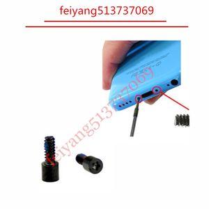 200pcs Original New Pentalobe Screws Bottom Dock Connector For iPhone 5C