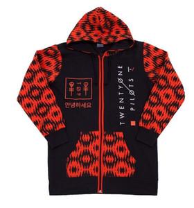 2017 neue Sweatshirts Mode Männer Patchwork Frühling Einundzwanzig Piloten Half Pattern Pullover Drucken Schwarz Plus Größe Sport Casual Hoodie