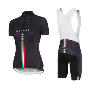 Women's Milano italy pro team Cycling jersey ropa ciclismo set wielerkleding vrouw sets zomer 2021 cuissard velo pro avec gel