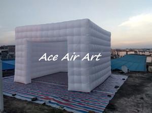 la decorazione gigante su ordinazione di evento della festa nuziale ha condotto il noleggio della cabina della foto gonfiabile con l'aeratore da vendere