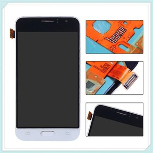 Pantalla LCD para Samsung Galaxy J1 J120 2016 J120F J120H J120M Pantalla LCD Touch Digitalizador Azul Blanco Oro Piezas de repuesto