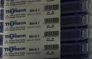 1 PZ THTMSON THREADING TAPS M 4 * 0,7 HSS-EV 1201B