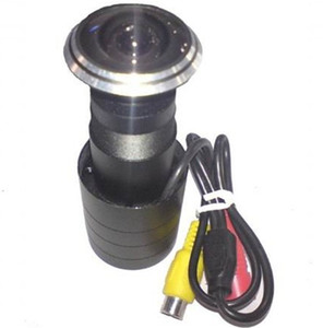 Macchina fotografica Peephole della porta del CCD di Sony, obiettivo grandangolare eccellente di alta qualità 170 gradi. Trasporto libero DHL / EMS.
