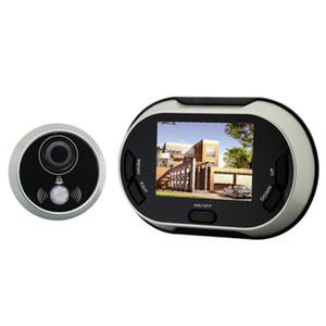 3.5 인치 IR 야간 투시경 유선 비디오 Doorbell Peephole 뷰어