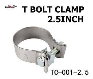 "RASTP - 높은 품질과 강도 2.5 ""클램프 (60-68) 스테인레스 실리콘 터보 호스 커플러 T 볼트 클램프 키트 RS-TC001-2.5"