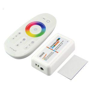 DC12V -24V 18A RGB LED Controlador 2.4G Touch Screen Dimmer RF Controle Remoto Sem Fio para 5050 3528 3014 RGB RGB LED Strip