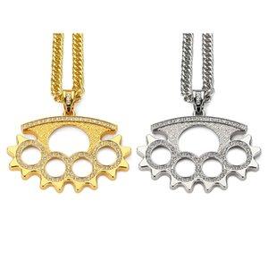 Europa e nos estados unidos moda hip hop colar rap rua dançarino colar de jóias de espessura banhado a ouro garantia de qualidade casaco pingente