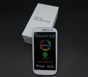 Originale Samsung Galaxy S3 i9300 Quad core Ram 1GB Rom 16GB 4.8 pollici 8MP GSM 3G sbloccato Cell Phone ricondizionato