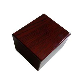 6 pçs / lote adequado para atacado caixa de relógio de madeira, transporte da gota de armazenamento presente jóias caixas de relógio personalizar logotipo econômico escolher caixas baratas