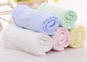 Bambino mussola salviette e asciugamani, naturali organici del bambino del cotone Panni, asciugamani, mussola Washcloth per la pelle sensibile