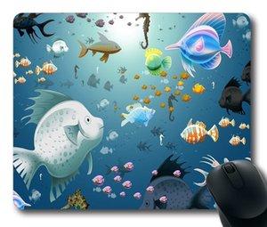 Sanal Akvaryum Mouse Pad Özelleştirilmiş Oyun Fare mat Dikdörtgen