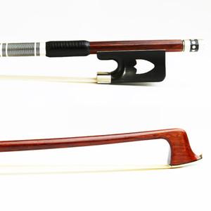 Free Shipping 4 4 Pernambuco Viola Bow Round Stick Ebony Frog Natural Mongolian Horse Hair Good Balance Viola Parts Accessories