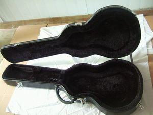 Black Brown White Leather   Yellow Nylon LP Tele ST MUSIC MAN Electric Guitar Suitable Hardcase Hard Shell Case Alternative Multi Inner