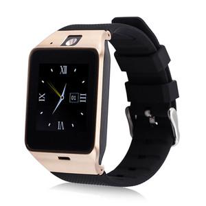 GV18 스마트 블루투스 시계 카메라 블루투스 손목 시계 SIM 카드 스마트 워치 IOS 안드로이드 전화 지원 히브리어