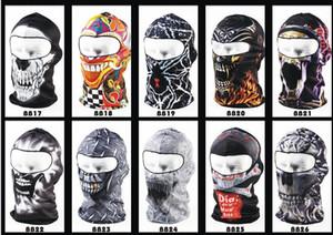 Quente 3D animal ativo ao ar livre esportes bicicleta bicicleta máscaras de motocicleta capuz de esqui chapéu véu Balaclava uv proteger full face máscara