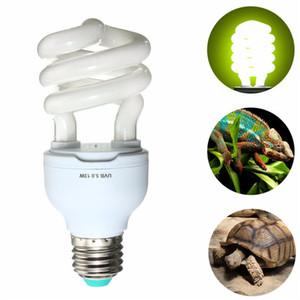 Isı Verici Ultraviyole Ampul E27 5.0 10.0 UVB 13 W Pet Sürüngen Işık Glow Lambası Günışığı Ampul Kaplumbağa Balık Amfibi için