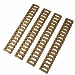 MP Ladder 18 Slots Low Profile Schiene deckt 4 teile / paket Rosa für Handschutz AR15 / M4