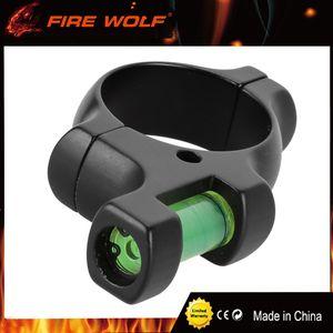 FIRE WOLF Level Ring for 30mm Tube Scope Durable aleación de equilibrio de acero Mount Mount accesorio de caza