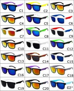 2017 Brand Designer Spied Ken Block Helm Occhiali da sole Moda Sport Occhiali da sole Oculos De Sol Occhiali da sole Eyeswearr 21 Colori Occhiali unisex