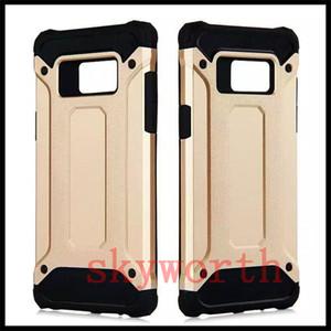 Robuste Fall-weiche TPU-Hybrid-Rüstung Shockproof Abdeckung für iphone X XS XR maximale 8 plus Samsung-Galaxie-Anmerkung 8 S8 J7 Prime