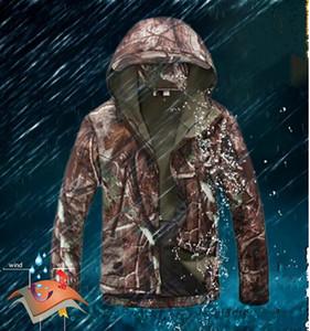 Lurker Tubarão Pele Macia Shell TAD V4.0 ao ar livre à prova de Chuva roupas Jaqueta Militar Tático À Prova D 'Água À Prova de Vento Camuflagem Do Exército