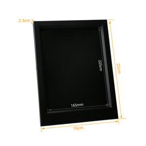 Новый 7 RGB Свет LED Фоторамка ИК-Пульт Дистанционного 7-й Батареи или DC 5 В Оптовая Продажа Фабрики Бесплатная Доставка DHL
