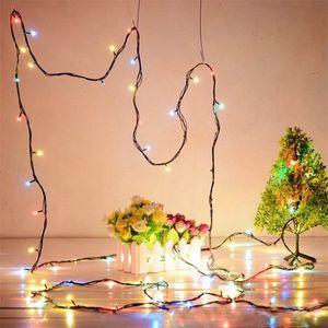 6 Modos de 4.2 M LED Colorido Cordas Controle de Luz Da Árvore de Natal Decoração Luzes Do Partido Flash LED Fariy Luz UE Plug AC220V