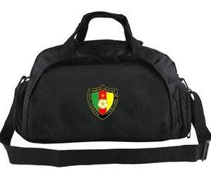 Borsa da viaggio Camerun Borsa da viaggio della squadra più forte Zaino forte emblema Portabagagli da calcio Borsone sportivo da spalla Imbracatura da esterno