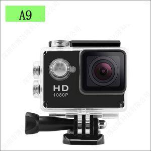 SJ4000 style A9 2 Inch LCD Screen 1080P Full HD Action Camera 30M Waterproof Camcorders Helmet Sports Mini DV Car DVR 4pcs