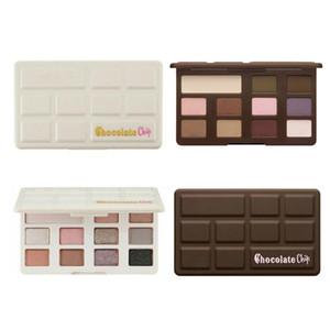 Novo Sombra De Olho De Chocolate 11 cores Maquiagem Paleta Da Sombra de Maquiagem Profissional Branco e Fosco Maquiagem Sombra DHL grátis