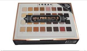 Edição Limitada Cosméticos Lorac Mega Pro 3 Paleta Da Sombra 32 Cores Paleta Brilho Marcas Finas Sombra de Olho Maquiagem Paleta
