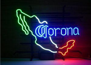 Fashion Handcraft Corona Extra Мексиканские стеклянные трубки Пивной бар Pub Неоновая вывеска 19x15 !!! Лучшее предложение!