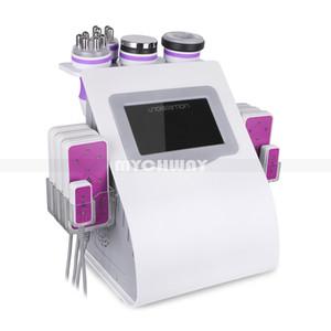 Ultra-cavitação vácuo face RF elevação Slimming Sistema Diod Lipo Laser Shaping corpo celulite redução Máquina