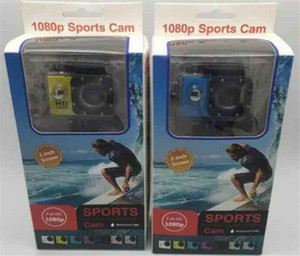 2018 Hot Sport Camera Aktion neue SJ4000 Freistil 2 Zoll LCD 1080P HD HDMI Action-Kamera 30 Meter wasserdichte DV-Kamera Sporthelm SJca