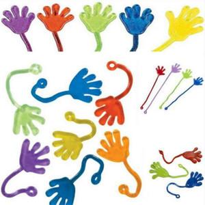 Çocuklar Parti Tedarik Mini Sabit Jelly Çubuk tokat Squishy Eller Oyuncak Favors