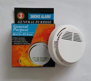Détecteur de fumée sans fil avec capteur d'alarme d'alarme-incendie stable à piles à haute sensibilité fonctionnant sur batterie de 9 V
