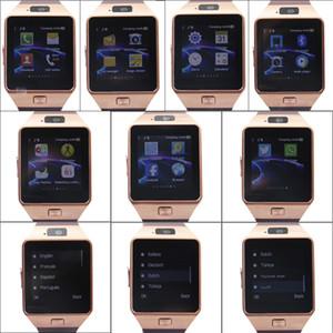 Guarda Supporto DZ09 Smartwatch Bluetooth GT08 Smart Card SIM sonno Monitor sedentario Ricordate Per Android Samsung