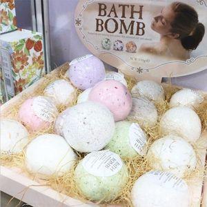 Wholesale 4pcs Handmade Deep Sea Bath Salt Bomb Bath Salt Ball SPA Bath Skin Care 100g