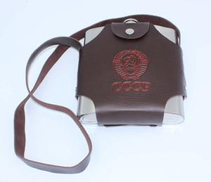 1 PC En Gros 38 oz 304 Acier Inoxydable flagon nouveau soudage Eau preuve de fuite bouilloire de haute qualité pot de vin A1812