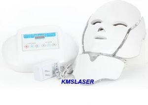 뜨거운 판매 PDT 7 색 LED 얼굴 마스크 빛 광자 치료 Photon LED 피부 회춘 아름다움 얼굴 스파 기계