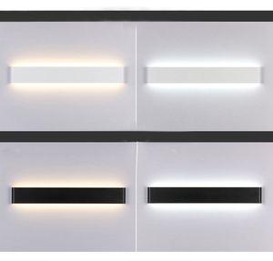 Moderno LED Lámpara de escalera de pared Lámpara de cabecera Luz de baño Baño Espejo Luz Pasillo Escaleras Cabecera de plomo Luz deco 24cm / 51cm / 61cm / 71cm / 91cm / 111cm
