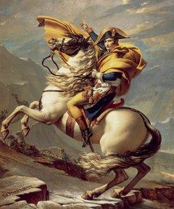 Reprodução da cópia da bela impressão de belas artes clássicas Bonaparte Giclee Print on Canvas Home Decor GT16 (149)