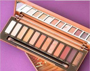 Ücretsiz Kargo (stock) ePacket! 2017 YENİ Isı Palet Göz Farı Paleti 12 renk göz farı paletleri Makyaj