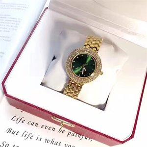 Las mujeres de moda Reloj de aleación reloj de lujo Shine Diamantes señoras Reloj de Pulsera Multi Colores de Alta Grado Famosa hebilla de joyería de diseño Popular